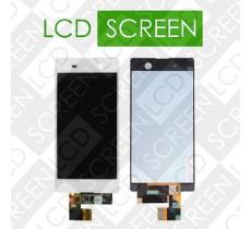 Дисплей для Sony Xperia M5 Dual E5633 с сенсорным экраном, белый, модуль ( дисплей + тачскрин )