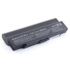 Батарея Sony VAIO VGN AR, C, FE, FS, FT, N, S, SZ, BPL2, BPS2, 11,1V 8800 mAh Black