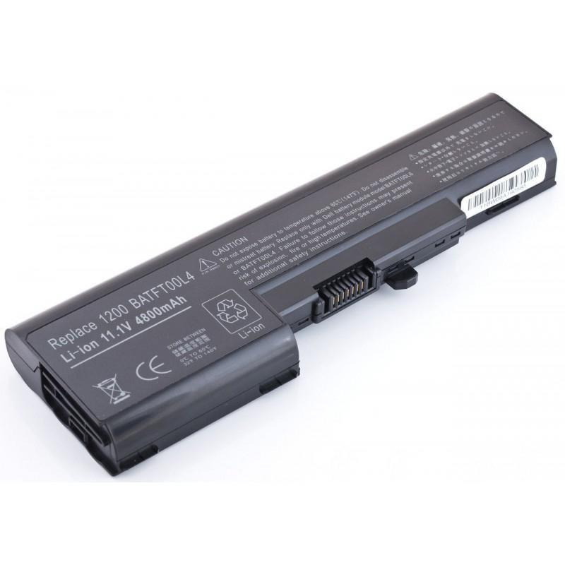 Батарея Dell Vostro 1200, 11,1V, 4800mAh, Black