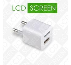 Сетевое зарядное устройство Remax USB 1A White
