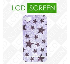 Чехол ARU для iPhone 4S Twinkle Stars Purple