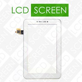 Сенсорный экран для планшетов Lenovo IdeaTab A2107 A2107A, IdeaTab A2207A, LePad A2207, белый, тачскрин touch сенсор