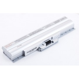 Батарея Sony VAIO VGN CS, FW, VPC-M, BPS13, 11,1V 4400 mAh Silver