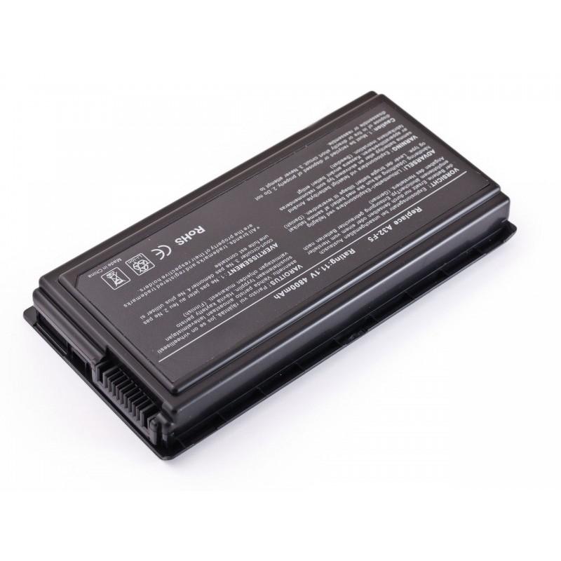 Батарея Asus F5 11,1V 4400mAh Black