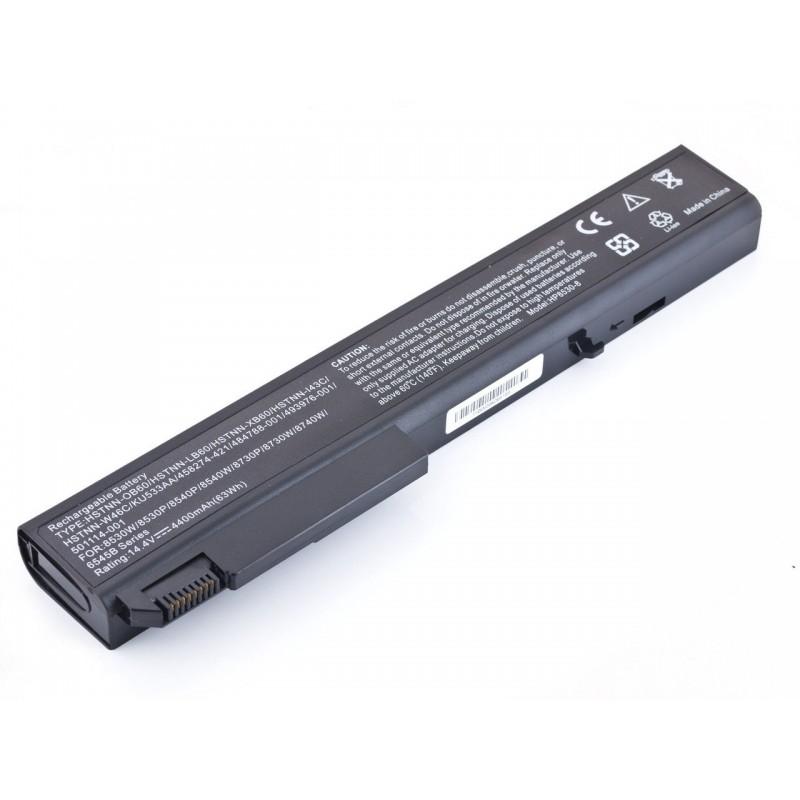 Батарея HP EliteBook 8530p, 14,4V, 4400mAh, Black