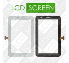 Тачскрин для планшета Samsung P6200 Galaxy Tab Plus, белый, touch screen, сенсорный экран