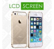 Бампер Vouni для iPhone 5/5S Buckle Color Match Gold/Silver