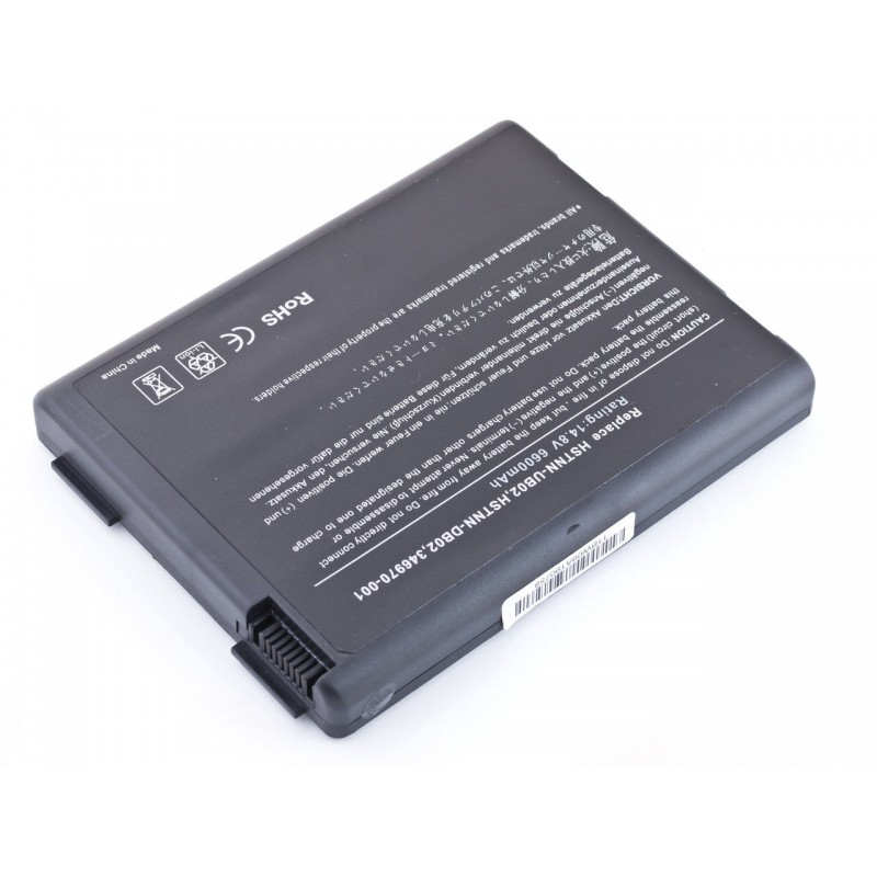 Батарея HP Presario R3000, R4000, Pavilion ZV5000, NX9110, 14,8V 6600mAh Black