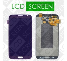Дисплей для Samsung Galaxy Note II N7100 с сенсорным экраном, синий, модуль ( дисплей + тачскрин ), оригинал