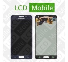 Дисплей для Samsung Galaxy Alpha G850, G850F с сенсорным экраном, черный, модуль ( дисплей + тачскрин )
