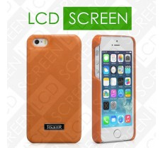 Чехол iCarer для iPhone 5/5S Luxury Orange (back cover) (RIP516)