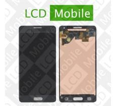 Дисплей для Samsung Galaxy Alpha G850, G850F с сенсорным экраном, серый, модуль ( дисплей + тачскрин )