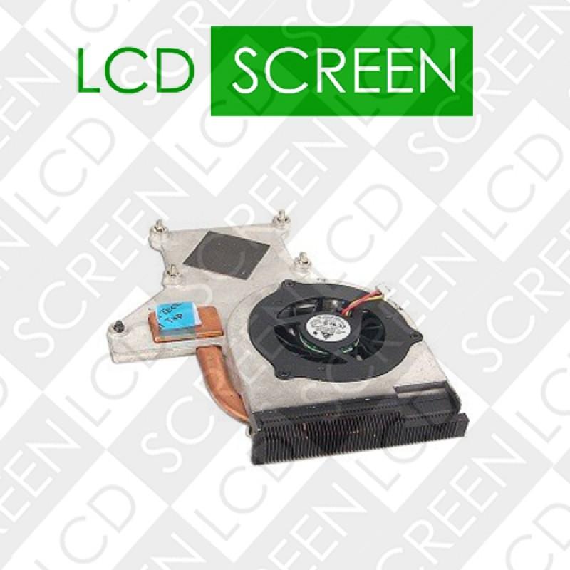 Вентилятор для ноутбука HP PAVILION DV2000, DV2100, DV2200, DV2300, DV2400, DV2500, DV2600, DV2700, DV2800; COMPAQ V3000, V3500, V3600, V3700, V3800 (FOR INTEL) with heatsink (KSB0505HA), кулер