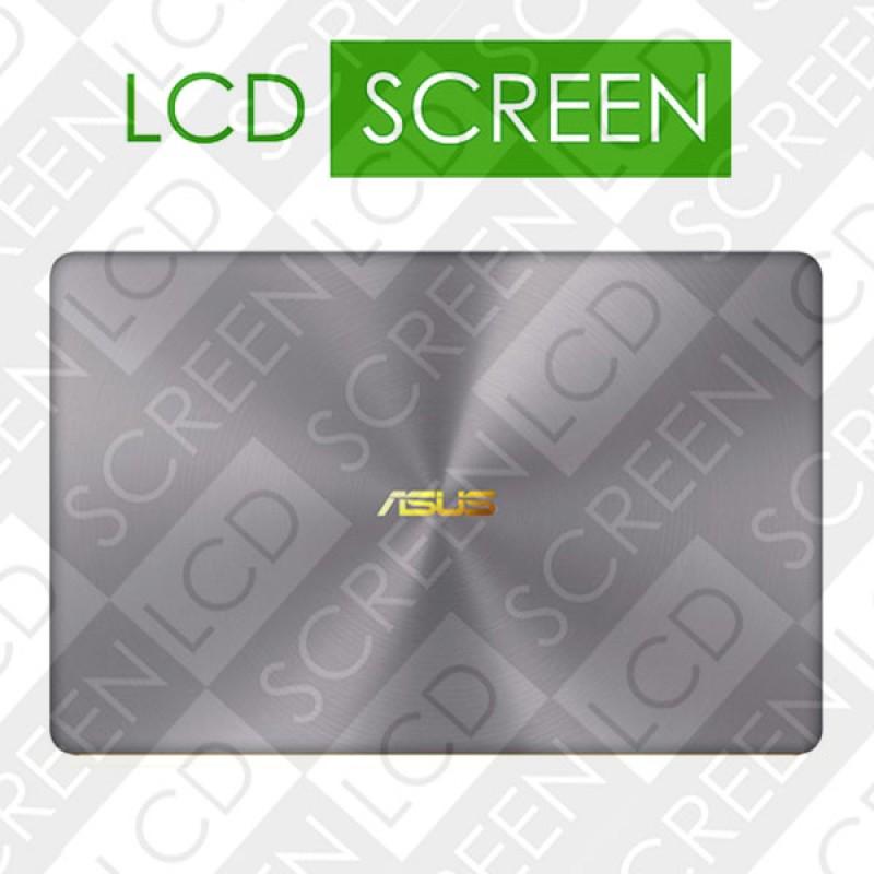 Крышка в сборе с матрицей для ноутбука 14 Asus ZenBook 3 Deluxe UX490 UX490UA 1920*1080, серая