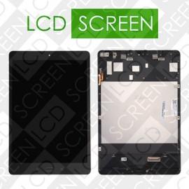 Модуль для планшета Asus ZenPad 3S 10 Z500M, черный с рамкой (версия Wi-Fi), дисплей + тачскрин