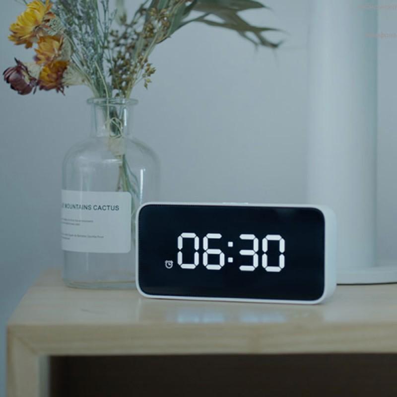 Умный будильник Xiaomi Xiao AI Smart Alarm Clock, часы настольные