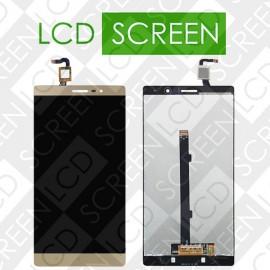 Модуль для планшета Lenovo Phab 2 PB2-650 PB2-650M PB2-650N, золотистый, дисплей + тачскрин