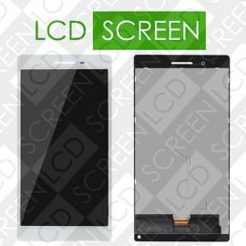 Модуль для планшета Lenovo Tab4 7 Essential TB-7304F Tab 4 7 7304F 7304, белый, дисплей + тачскрин