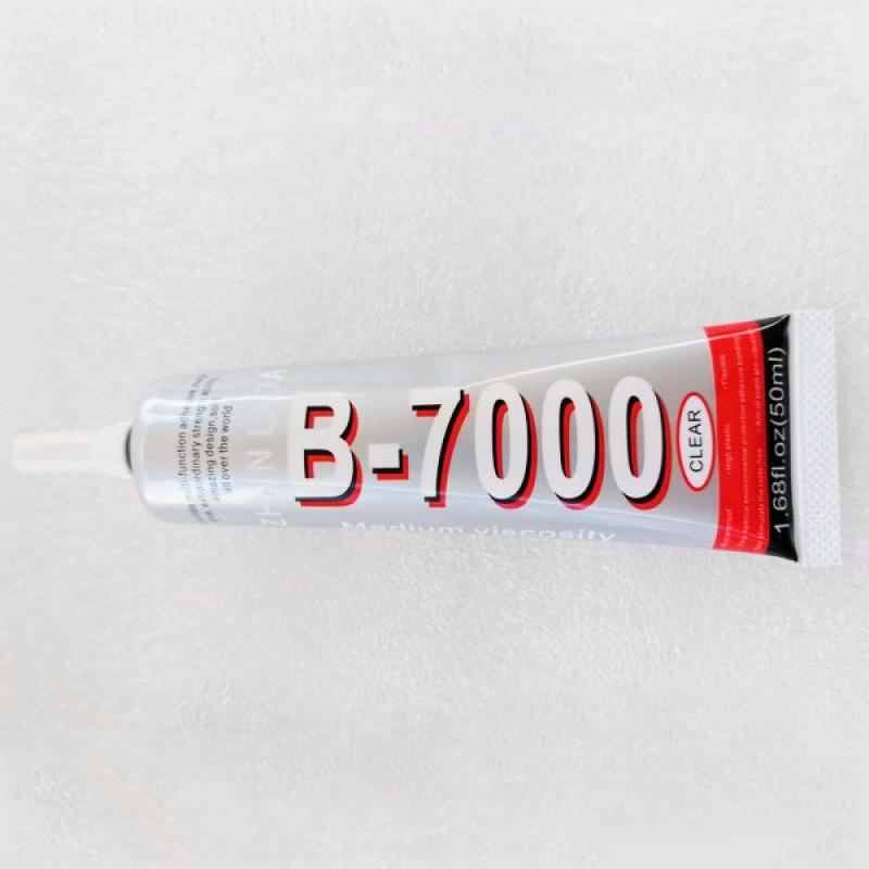Клей B-7000 ZHANLIDA 50 мл, клей-герметик B7000 для тачскринов, дисплеев
