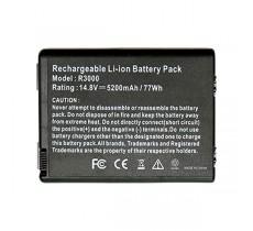 Батарея HP Compaq R3000, 14.8 V 5200 mAh, HSTNN-UB02 HSTNN-DB02 HSTNN-DB03 HSTNN-IB04, черный, аккумулятор для ноутбука