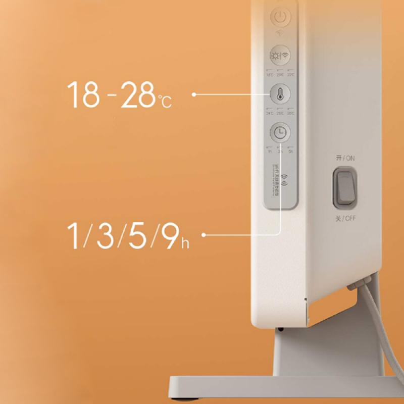 Обогреватель Xiaomi 2200W New Version Mi Smart Heater KRDNQ03ZM, умный электрический конвектор