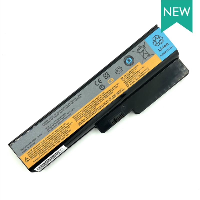 Батарея Lenovo G430, G450, G530, G550, B460, Z360, 11,1 V 5200 mAh, L08L6C02, черный, аккумулятор для ноутбука