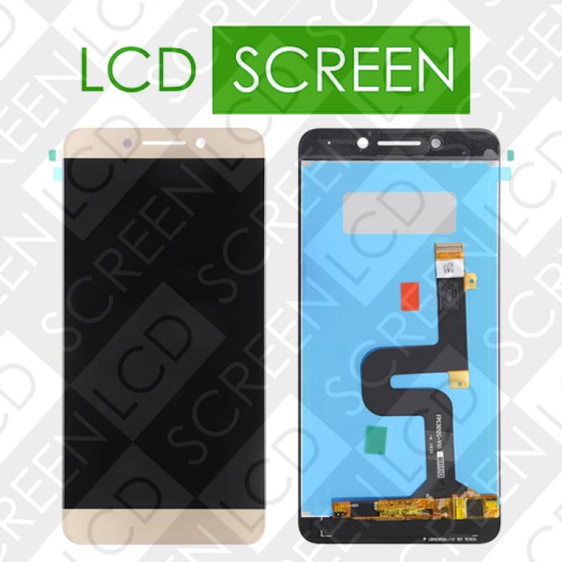 Дисплей для LeEco (LeTV) LePro 3 X720 X725 X727 с сенсорным экраном, золотистый, модуль, дисплей + тачскрин