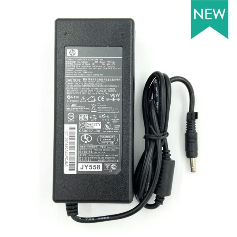 Блок питания для ноутбука HP 19V 4.74A 90W 4.8х1.7 мм
