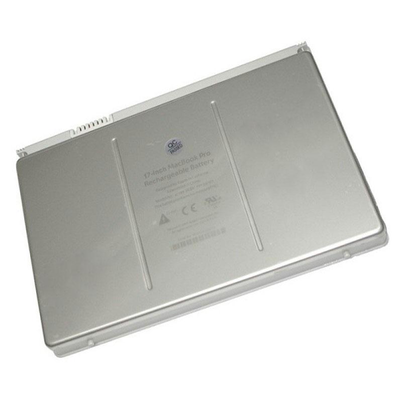Батарея Apple MacBook Pro A1151, MA092, MA611, MA897A, MB166A 17-inch, 10,8 V 6400 mAh, A1189, серебристый, аккумулятор для ноутбука