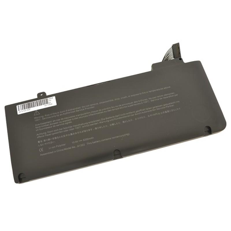 Батарея Apple MacBook 13-inch, 11,1 V 5200 mAh, A1322, черный, аккумулятор для ноутбука
