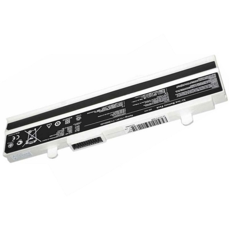 Батарея Asus EEE PC 1015, 1016, 1215, 10,8 V 5200 mAh, A31-1015, белый, аккумулятор для ноутбука