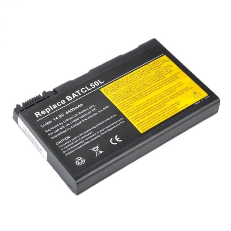 Батарея Acer Aspire 9010, 9100, 9500, TravelMate 290, 291, 2350, 4050, 4150, 4650, Compal CL50, CL51, 14,8 V 4400 mAh, BATCL50L, черный, аккумулятор для ноутбука