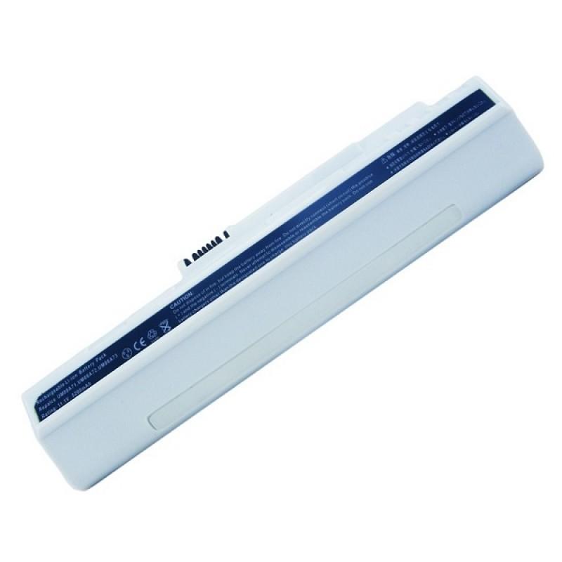 Батарея Acer Aspire One, Aspire One Pro, eMachines 250, eMachines 350, 11,1 V 5200 mAh, UM08A73, белый, аккумулятор для ноутбука