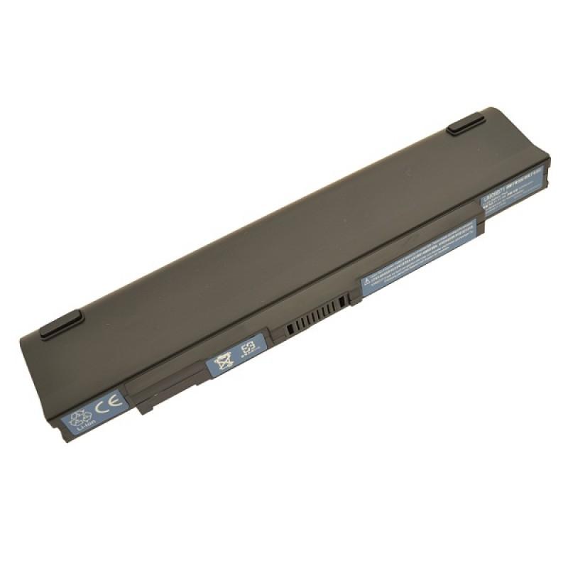 Батарея Acer Aspire One ZA3, ZG8, ZGE, 531, SP1, AO751, AO751h, 751, 751h, 11,1 V 5200 mAh, UM09B7C, черный, аккумулятор для ноутбука