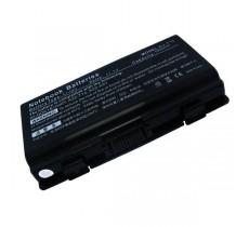 Батарея Asus X51, T12, Packard bell MX35, MX36, MX45, MX51, MX52, MX65, MX66, MX65-042, MX66-207 Series, 11,1 V 5200 mAh, A32-T12, черный, аккумулятор для ноутбука