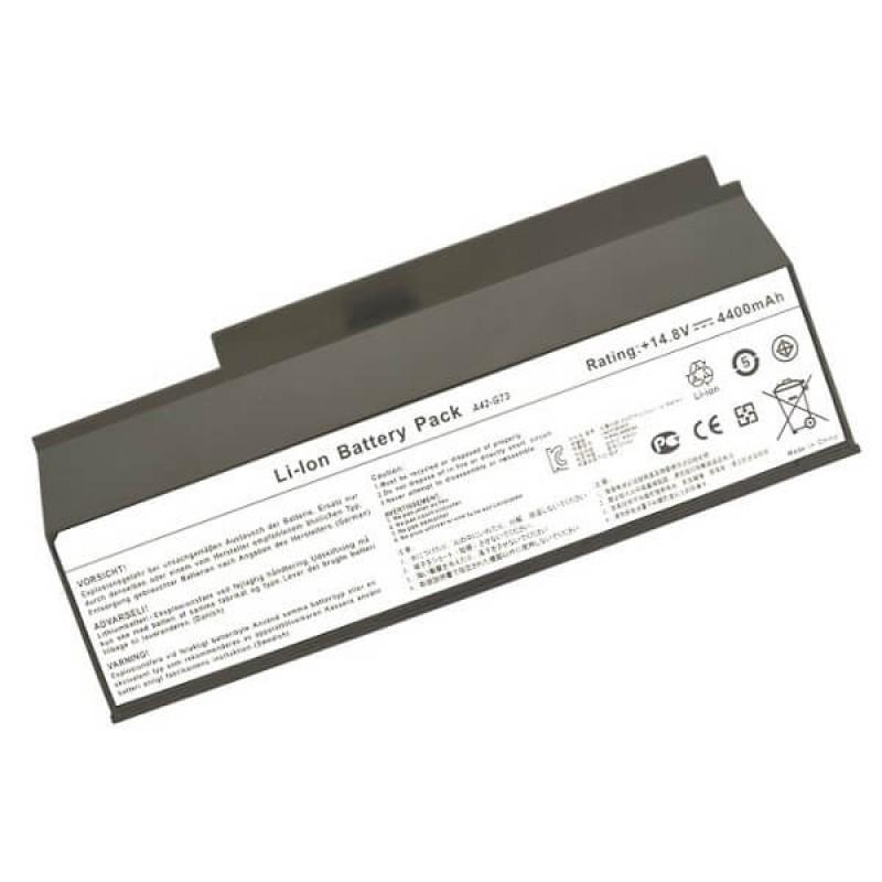 Батарея Asus G53JW, G53SW, G53SX, G73JH, G73JW, G73SW, VX7, VX7SX, Lamborghini VX7, VX7SX, 14,8 V 4400 mAh, A42-G73, черный, аккумулятор для ноутбука