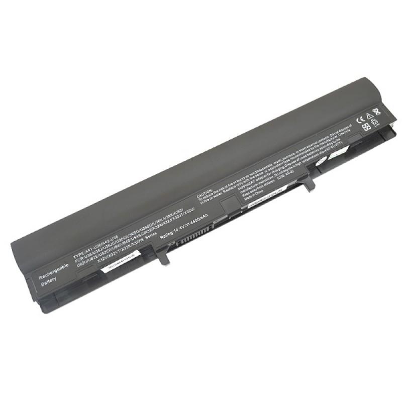 Батарея Asus A42-U36, 14,4 V 4400 mAh, A42-U36, черный, аккумулятор для ноутбука