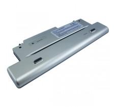 Батарея Dell Latitude X300, Inspiron 300m, 14,8 V 4400 mAh, F0993, серебристый, аккумулятор для ноутбука