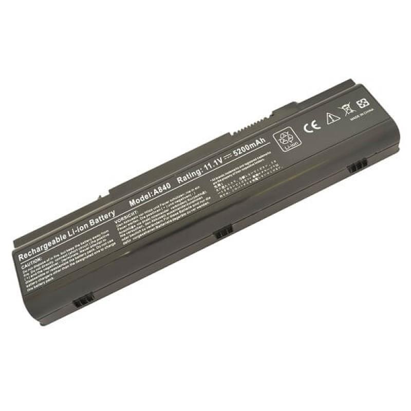 Батарея Dell Inspiron 1410, Vostro A840, A860, 11,1 V 5200 mAh, F287H, черный, аккумулятор для ноутбука