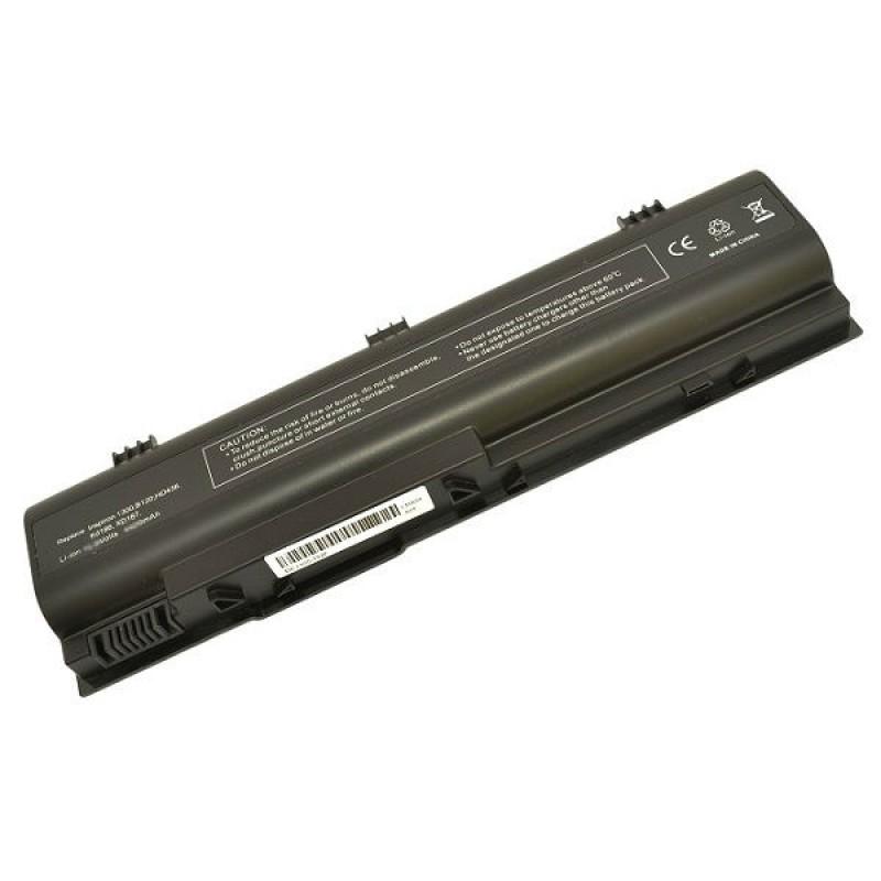 Батарея Dell Inspiron 1300, B120, B130, Latitude 120L, 11,1 V 5200 mAh, KD186, черный, аккумулятор для ноутбука