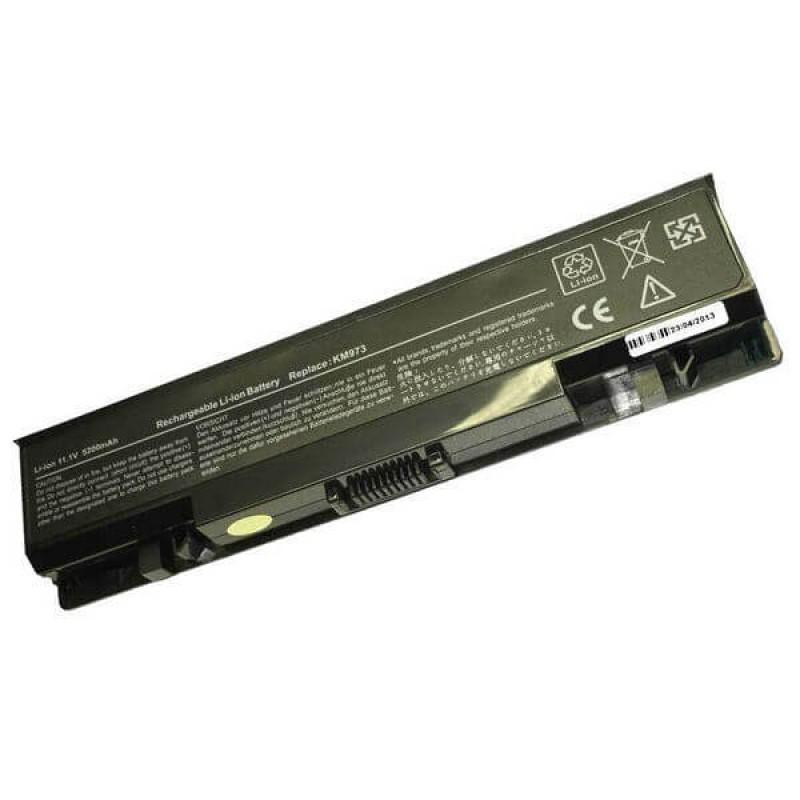 Батарея Dell Studio 1735, 1737, 11,1 V 5200 mAh, KM973, черный, аккумулятор для ноутбука