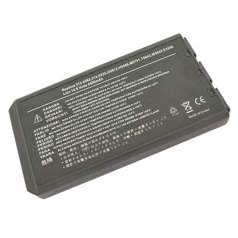 Батарея Dell Inspiron 1000, 1200, 2200, Latitude 110L, 14,8 V 4400 mAh, M5701, черный, аккумулятор для ноутбука