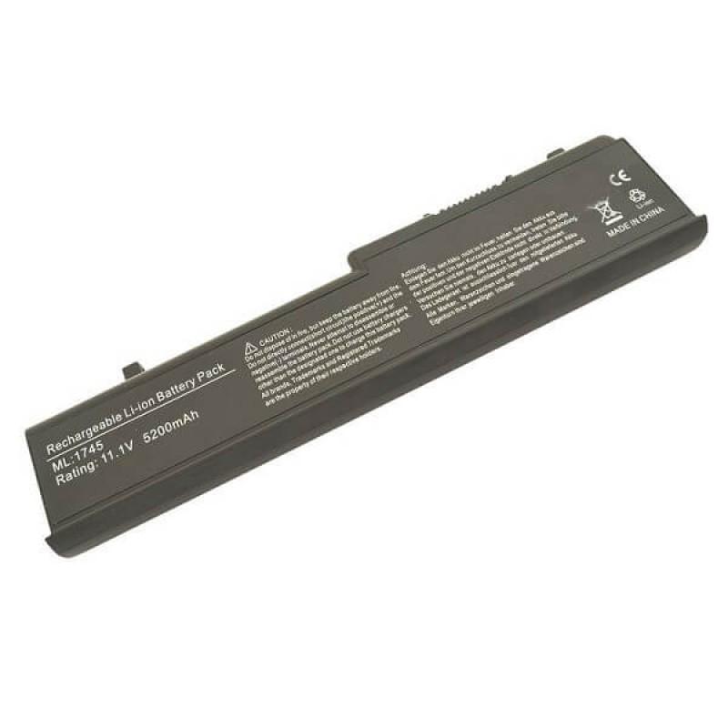 Батарея Dell Studio 17, 1745, 1747, 1749, 11,1 V 5200 mAh, N856P, черный, аккумулятор для ноутбука