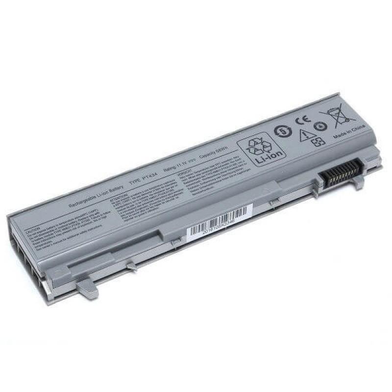 Батарея Dell Latitude E6400, E6500, 6400 ATG, Precision Mobile WorkStations M2400, M4400, M6400, 11,1 V 5200 mAh, PT434, серый, аккумулятор для ноутбука