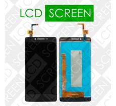 Дисплей для Lenovo A6010 с сенсорным экраном, черный, модуль ( дисплей + тачскрин )