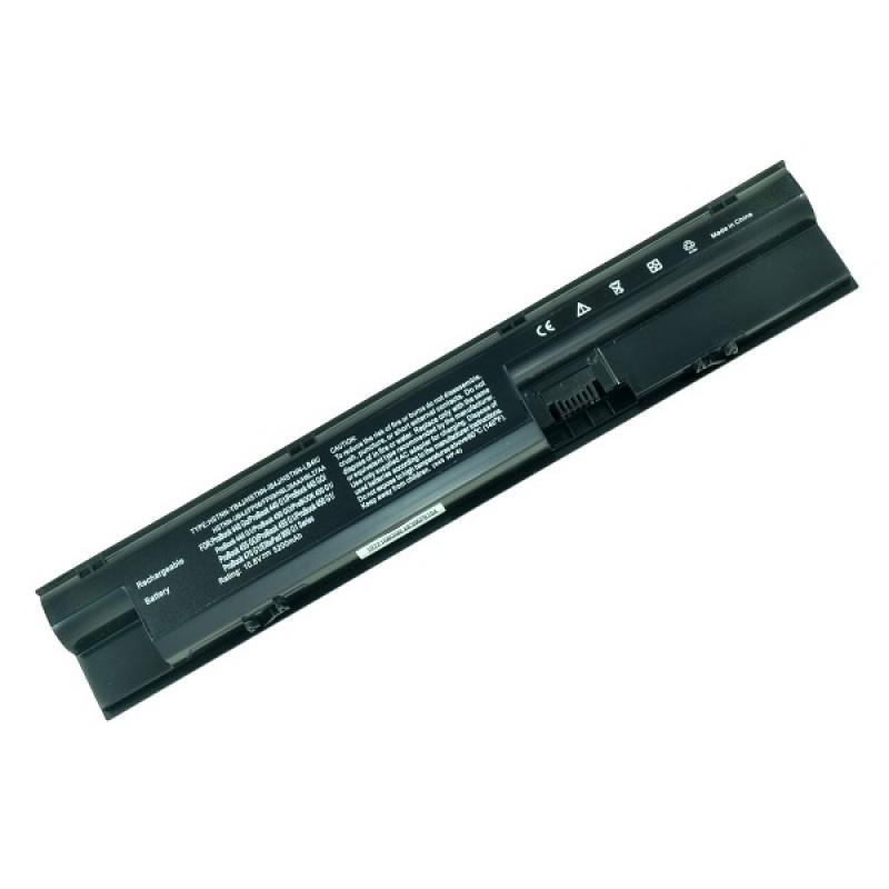 Батарея HP ProBook 440, 445, 450, 455, 470, 10,8 V 5200 mAh, FP06, черный, аккумулятор для ноутбука