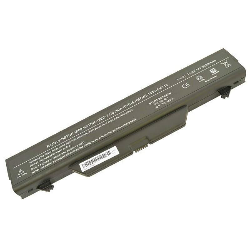 Батарея HP Compaq 4710s 4510s 4515s, Probook 4510s 4710s, 11,1 V 5200 mAh, HSTNN-IB89, черный, аккумулятор для ноутбука