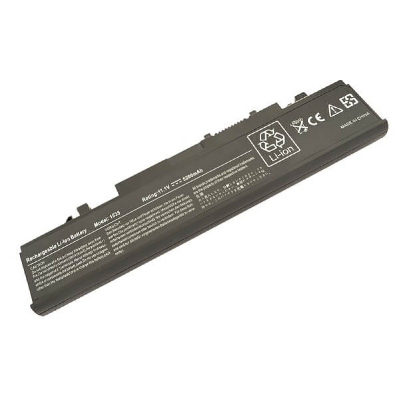 Батарея Dell Studio 1555, 1537, 1535, 11,1 V 5200 mAh, WU946, черный, аккумулятор для ноутбука