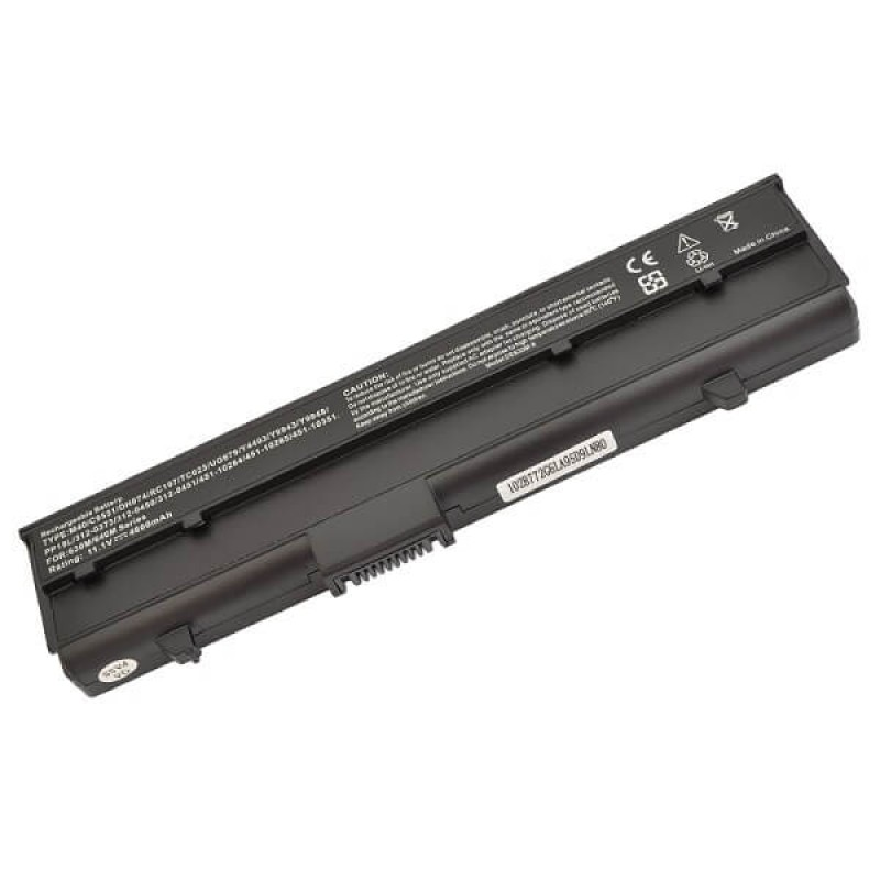 Батарея Dell Inspiron E1405, 630m, 640m, XPS m140, 11,1 V 4800 mAh, Y9943, черный, аккумулятор для ноутбука