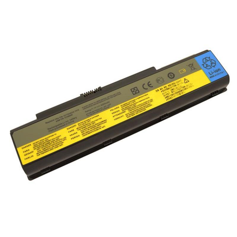 Батарея IBM-Lenovo 3000 Y500, IdeaPad Y510, Y530, Y710, Y730, 11,1 V 5200 mAh, 121TL070A, черный, аккумулятор для ноутбука